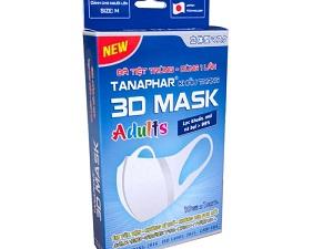 Khẩu trang 3D Tanaphar Adults